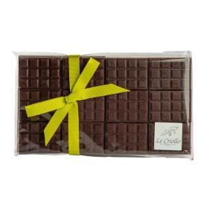 Mini tablettes chocolat noir
