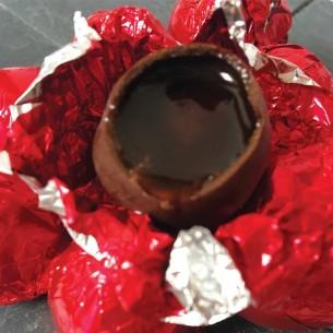 Chocolats aux alcools
