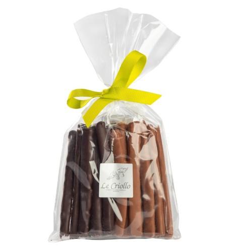 Orangettes chocolat noir et chocolat...